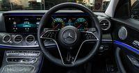 3-spoke AMG steering wheel in black nappa leather