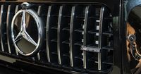 AMG-specific radiator grille