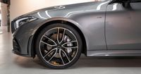 The particularly sportily tuned AMG RIDE CONTROL+ suspension combines the advantages of several suspensions in one