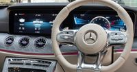 Your hands have only to touch the nappa leather of the new AMG Performance steering wheel for you to sense the tradition with which you are driving