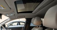 The electric glass sliding sunroof allows more light and air into your vehicle