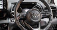 Multi function leather steering wheel