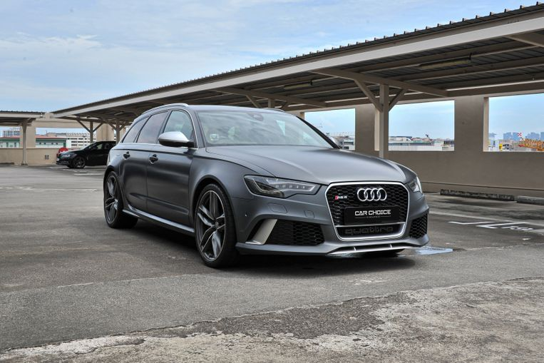 Certified Pre-Owned Audi RS6 Avant 4.0A TFSI Quattro   Car ...