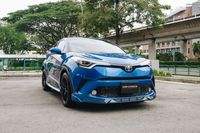 Certified Pre-Owned Toyota C-HR Hybrid 1.8A G LED | Car Choice Singapore