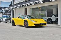 Certified Pre-Owned Ferrari 458 Italia   Car Choice Singapore